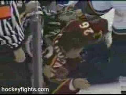Dallas Drake vs Ron Petrovicky