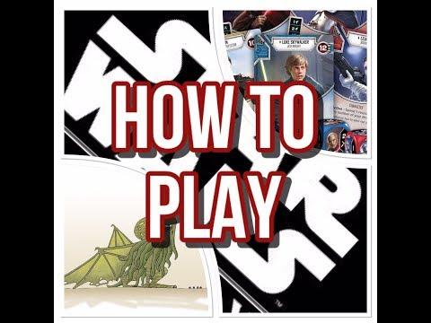 How to Play Star Wars: Destiny