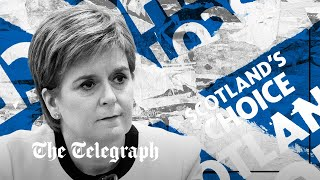 video: Watch: How Nicola Sturgeon and the SNP are using independence to distract from Scotland's problems