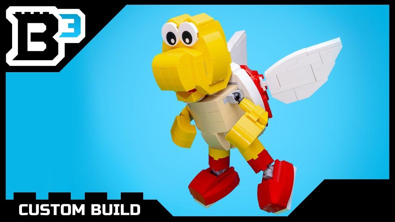 Custom LEGO Nintendo Koopa Paratroopa Figure