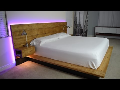 Download DIY Platform Bed With Floating Night Stands (Plans Available) Mp4 HD Video and MP3