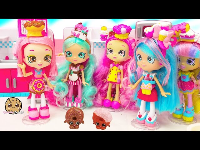 trend chef club season shopkins shoppies doll peppa mint jessicake bubbleisha with exclusives