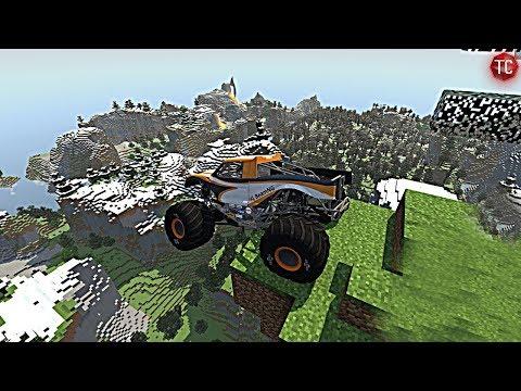 MINECRASH! (BeamNG.Drive Minecraft Mod)