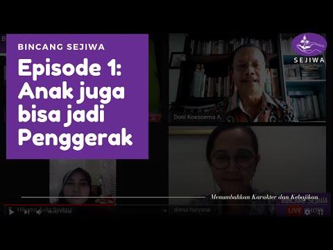 Bincang SEJIWA: Anak Juga Bisa Jadi Penggerak