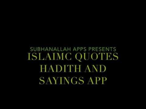 Video of Islamic Quotes and Sayings App