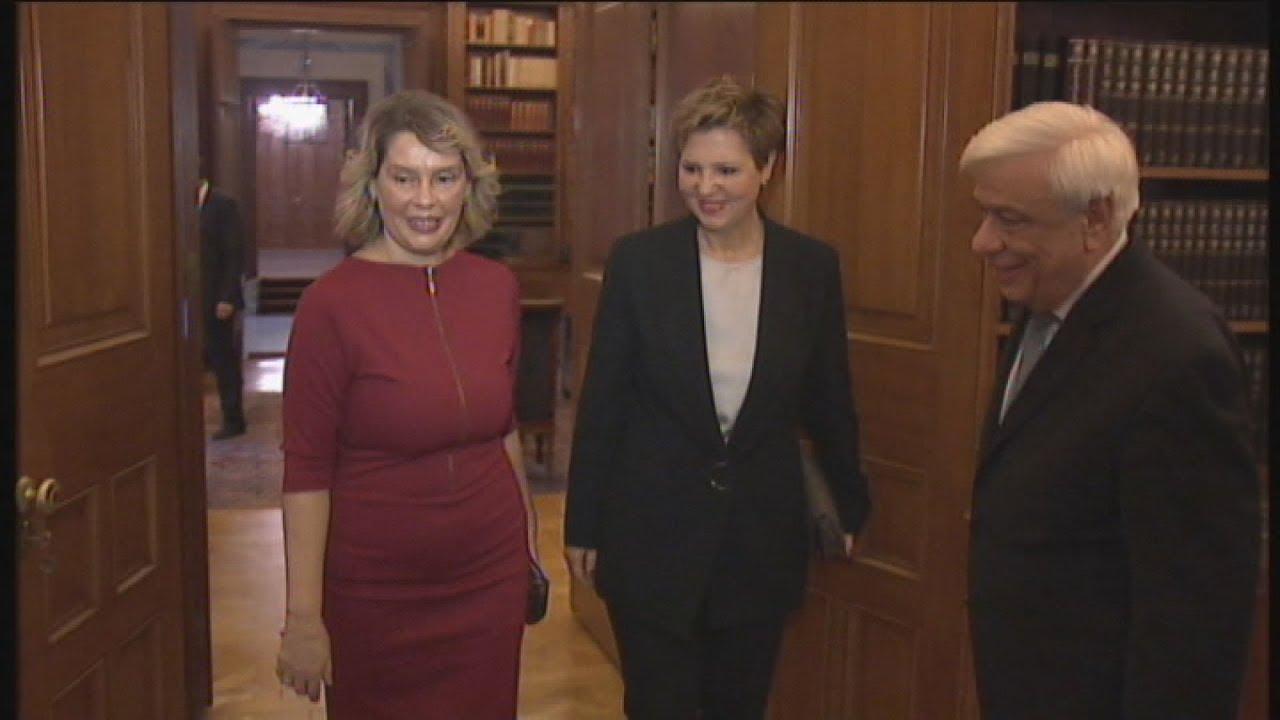 Συνάντηση του ΠτΔ με την Ο. Γεροβασίλη και την Κ. Παπακώστα
