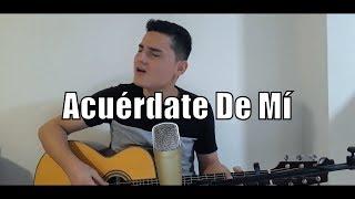 Acuérdate De Mí   Morat   (Cover Geiler Andrés)