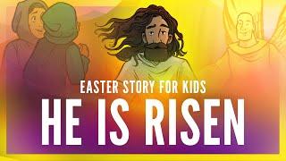 He Is Risen: Easter Bible Story for Kids – Matthew 27 (Sharefaithkids.com)