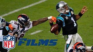 Von Miller Gets to Cam Newton | Super Bowl 50: Panthers vs. Broncos | NFL Turning Point | NFL Films