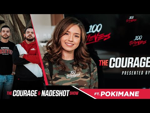 POKIMANE REVEALS HER CELEBRITY CRUSH - The CouRage and Nadeshot Show