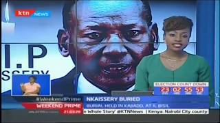 Leaders preach peace as the nation bids farewell to General Nkaissery