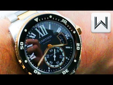 Cartier Calibre de Cartier Diver (W7100054) Luxury Watch Review