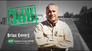 Brian Covert  - On the Job at Jackson County REMC