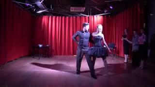 Инна Маликова танцует Ча-ча-ча