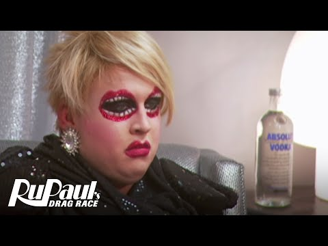 RuPaul's Drag Race Season 3: Shangela vs Mimi Imfurst - Queens from Outer Space Fight - Logo TV