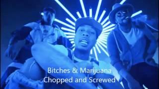 Chris Brown, Tyga - Bitches N Marijuana ft. ScHoolboy Q (Chopped & Screwed)