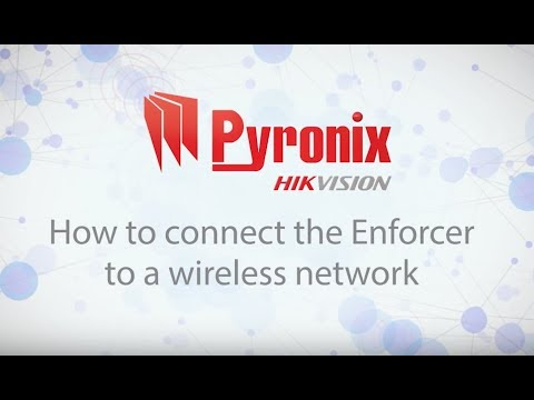 How to connect the Enforcer to a wireless network