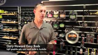 Rods Gary Howard Envy Light Spin Rods [VIDEO]