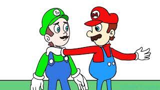 Kid Luigi and Mario | Baldis Basics Animation