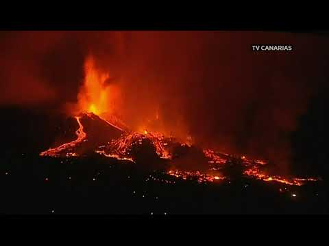 LIVE: Volcano erupts on La Palma in the Canary Islands