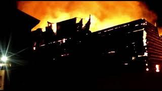 Пожар в бане «Деревенька»