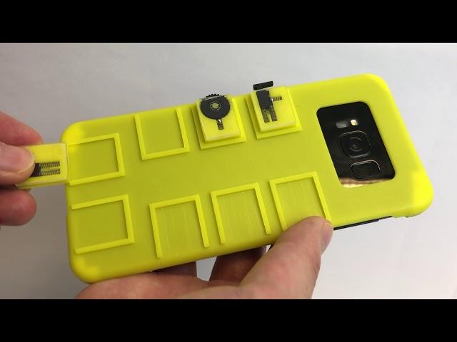 Необычный интерфейс позволит управлять смартфоном без физического или беспроводного подключения