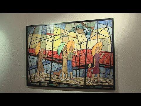 Várnegyed Galéria - Bor Pál - video preview image