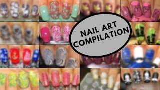 Best Nail Art Compilation 2018   DesignYourNailsByIsha