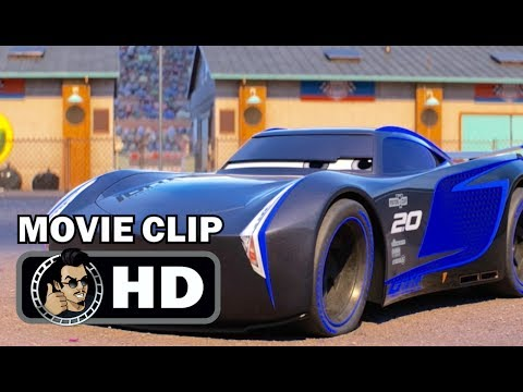 CARS 3 Movie Clip - Meet Jackson Storm (2017) Disney Pixar Lightning McQueen HD