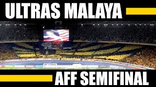 Ultras Malaya - UM07 - AMAZING Display - Choreo - AFF Semifinals vs. Thailand