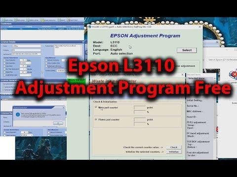 epson adjustment program l3110 free download