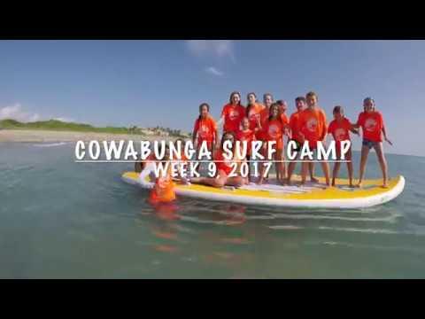 Cowabunga Surf Camp July 31 - August 4, 2017