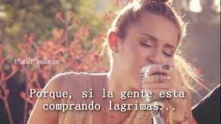 Miley Cyrus - Look What They've Done to My Song [Cover] [Traducción en Español] [Oficial Vídeo]