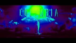 Columbia Pictures flares up in space! THE LIGHTS IS COLOR GREEN