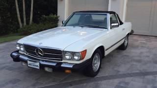 Mercedes-Benz SL klasė (R107/C107) 1971 - 1989