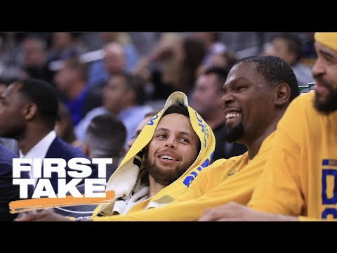 Does NBA Finals Rest On Kevin Durant Or Steph Curry's Shoulders?   First Take   May 25, 2017
