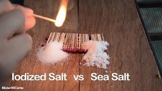 Iodized Salt vs Sea Salt | Part 2 (Most Amazing Video)