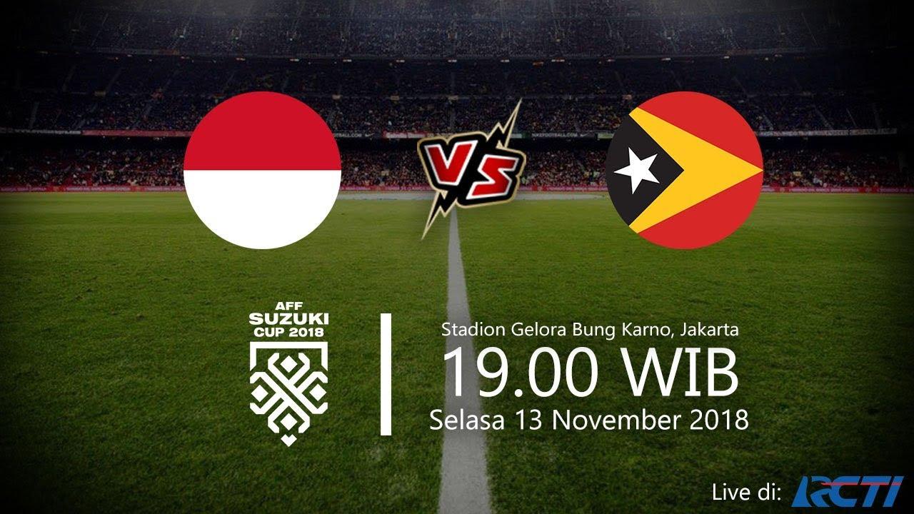 Streaming Rcti: Live Streaming RCTI, Indonesia Vs Timor Leste Di Piala