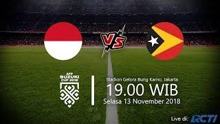 Live Streaming RCTI, Indonesia Vs Timor Leste di Piala Suzuki AFF, Selasa Pukul 19.00 WIB