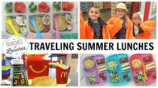 COOL Summer Lunches 😎+ Traveling Lunches🚗 + Where And What They Ate 🍔
