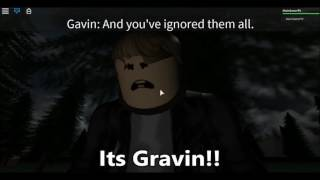 How To Finish Gavins Story/Normal Elevator/Roblox