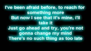 Charice - one day lyrics