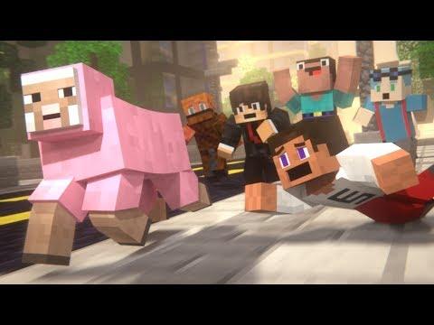 PINK SHEEP (Minecraft Animation Collab)