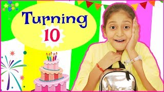 Turning 10 - How I Celebrated My Birthday   #Special #DIML #MyMissAnand