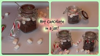 Christmas Gift Idea! I Last Minute DIY Hot Chocolate Gift!