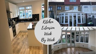Kitchen Extension | Week By Week | Vlogtember