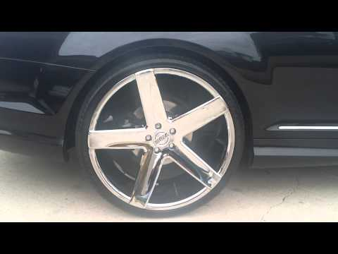 "2008 Mercedes CL550 AMG w/ 22"" wheels"