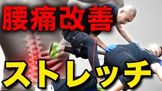 【ストレッチ】股関節周りをほぐして腰痛改善!!