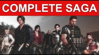Resident Evil: The Complete Saga (Cutscenes Movie of all Resident Evil Games)