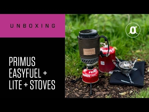 CARPologyTV - Primus Easyfuel Stoves and Lite+ Stove Review
